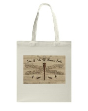 You And Me Til Forever Ends Tote Bag thumbnail