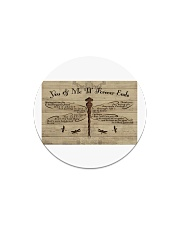 You And Me Til Forever Ends Circle Magnet thumbnail