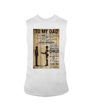 To My Dad I'll Always Be Your Little Boy Sleeveless Tee thumbnail