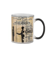 To My Dad I'll Always Be Your Little Boy Color Changing Mug thumbnail