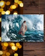 He Walks On Water 17x11 Poster aos-poster-landscape-17x11-lifestyle-29