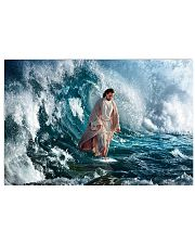 He Walks On Water 17x11 Poster front