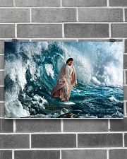 He Walks On Water 17x11 Poster poster-landscape-17x11-lifestyle-18