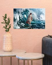 He Walks On Water 17x11 Poster poster-landscape-17x11-lifestyle-21