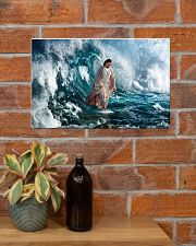 He Walks On Water 17x11 Poster poster-landscape-17x11-lifestyle-23