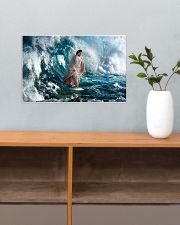 He Walks On Water 17x11 Poster poster-landscape-17x11-lifestyle-24