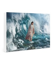 He Walks On Water 24x16 Gallery Wrapped Canvas Prints thumbnail