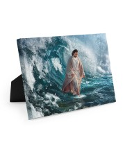 He Walks On Water 10x8 Easel-Back Gallery Wrapped Canvas thumbnail
