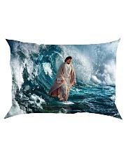 He Walks On Water Rectangular Pillowcase thumbnail