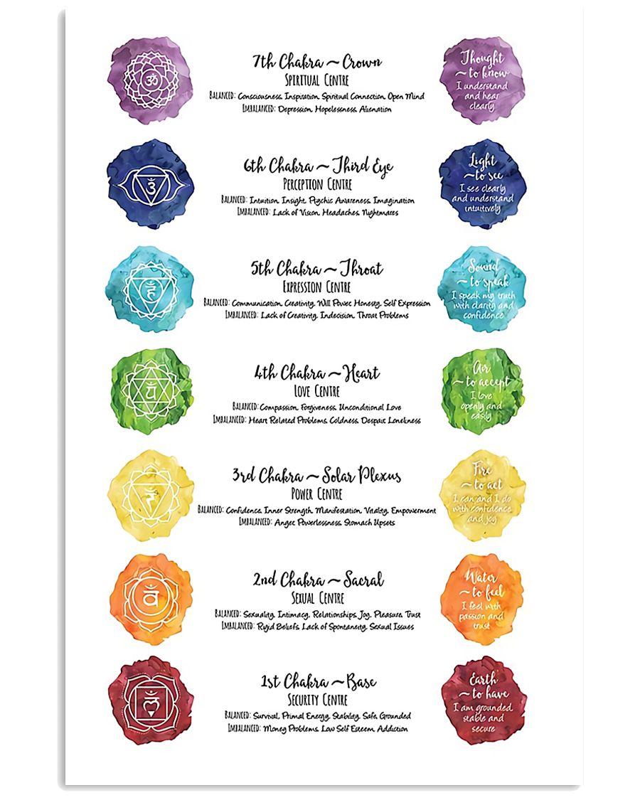 Chakra Meditation 16x24 Poster