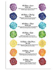 Chakra Meditation 16x24 Poster front