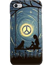 Hippie Peaceful Phone Case tile