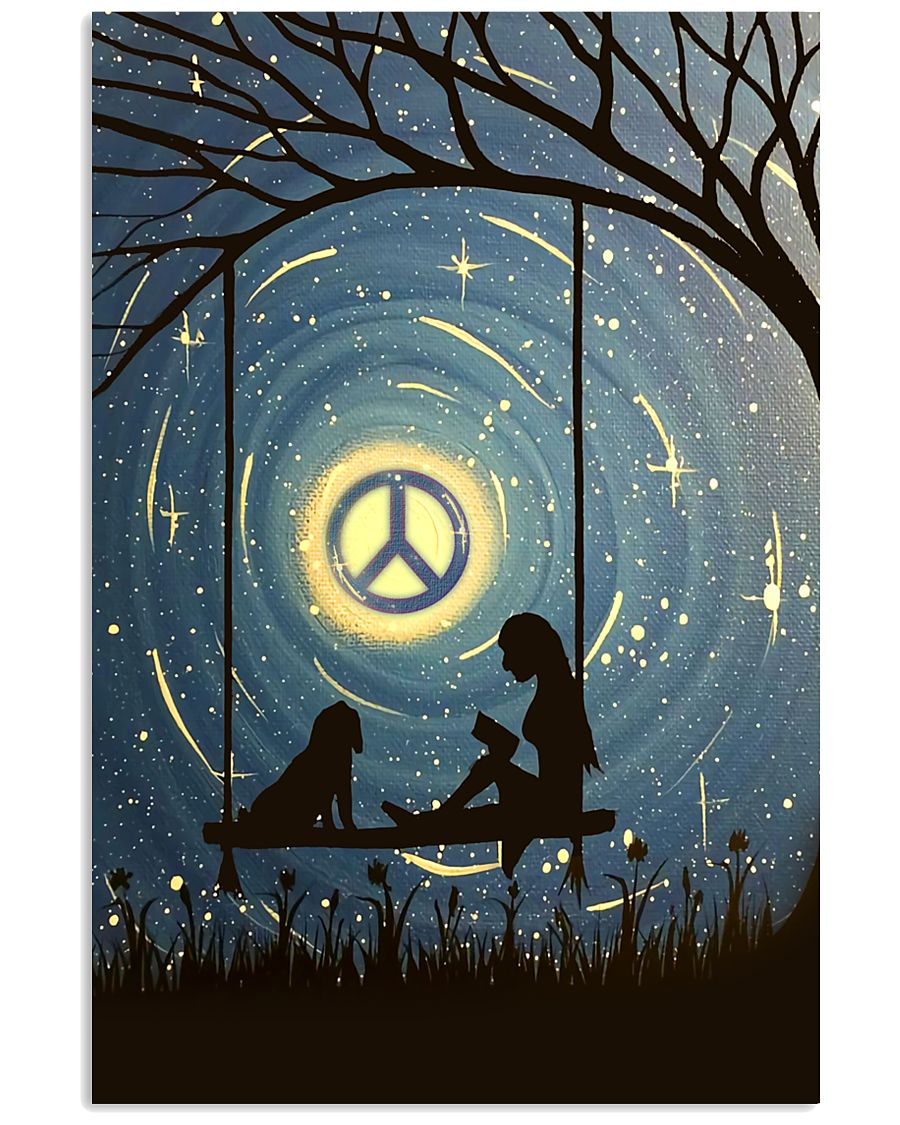 Hippie Peaceful 16x24 Poster