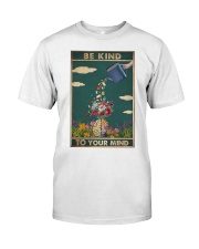 Book - Be Kind To Your Mind Classic T-Shirt thumbnail