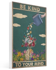 Book - Be Kind To Your Mind 16x24 Gallery Wrapped Canvas Prints thumbnail
