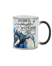 We Are The Granddaughters Of The Witches Color Changing Mug thumbnail