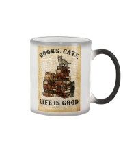 Books Cats Color Changing Mug thumbnail