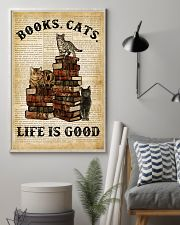 Books Cats 16x24 Poster lifestyle-poster-1