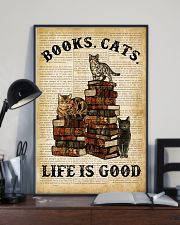 Books Cats 16x24 Poster lifestyle-poster-2