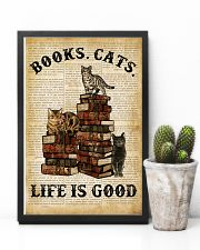 Books Cats 16x24 Poster lifestyle-poster-8