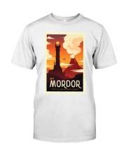 LOTR Retro Travel Posters Ver3 Classic T-Shirt thumbnail