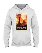 LOTR Retro Travel Posters Ver3 Hooded Sweatshirt thumbnail