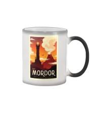 LOTR Retro Travel Posters Ver3 Color Changing Mug thumbnail