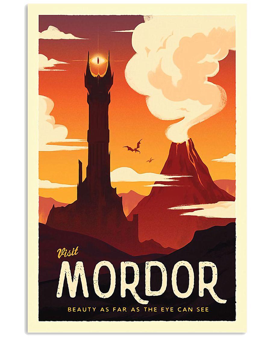 LOTR Retro Travel Posters Ver3 11x17 Poster