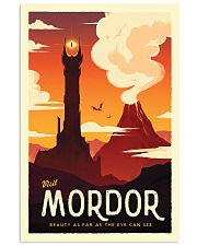 LOTR Retro Travel Posters Ver3 11x17 Poster front