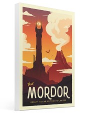LOTR Retro Travel Posters Ver3 16x24 Gallery Wrapped Canvas Prints thumbnail