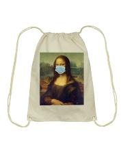 Masked Mona Drawstring Bag thumbnail