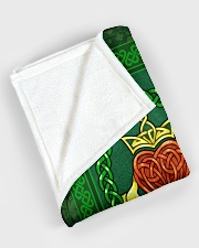 "Irish Blanket Large Fleece Blanket - 60"" x 80"" aos-coral-fleece-blanket-60x80-lifestyle-front-08"