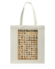Types Of Ball Pythons Tote Bag thumbnail