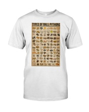 Types Of Ball Pythons Classic T-Shirt thumbnail