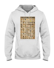Types Of Ball Pythons Hooded Sweatshirt thumbnail