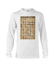Types Of Ball Pythons Long Sleeve Tee thumbnail