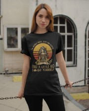 Peace Love and Coffee Classic T-Shirt apparel-classic-tshirt-lifestyle-19