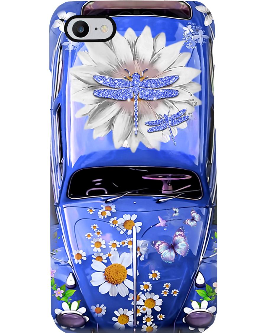 Dragonflies Lovers Vw Bug Phone Case