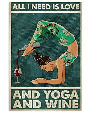 Yoga And Wine 11x17 Poster front