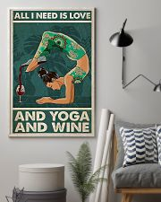 Yoga And Wine 11x17 Poster lifestyle-poster-1