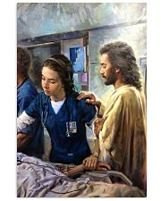 Prayer and Nurse 16x24 Poster front