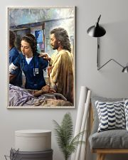 Prayer and Nurse 16x24 Poster lifestyle-poster-1