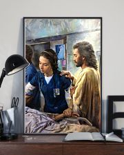 Prayer and Nurse 16x24 Poster lifestyle-poster-2
