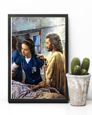 Prayer and Nurse 16x24 Poster lifestyle-poster-8