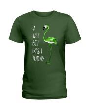 A Wee Bit Irish Today Ladies T-Shirt front
