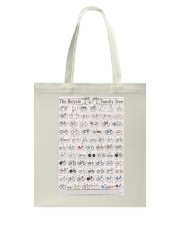 History of Bicycles Tote Bag tile