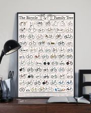 History of Bicycles 11x17 Poster lifestyle-poster-2