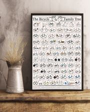 History of Bicycles 11x17 Poster lifestyle-poster-3
