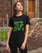 Happy Saint Pattrex Classic T-Shirt apparel-classic-tshirt-lifestyle-06