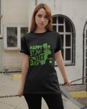 Happy Saint Pattrex Classic T-Shirt apparel-classic-tshirt-lifestyle-19